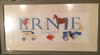 Personalised Name Prints by Sal Ashmore