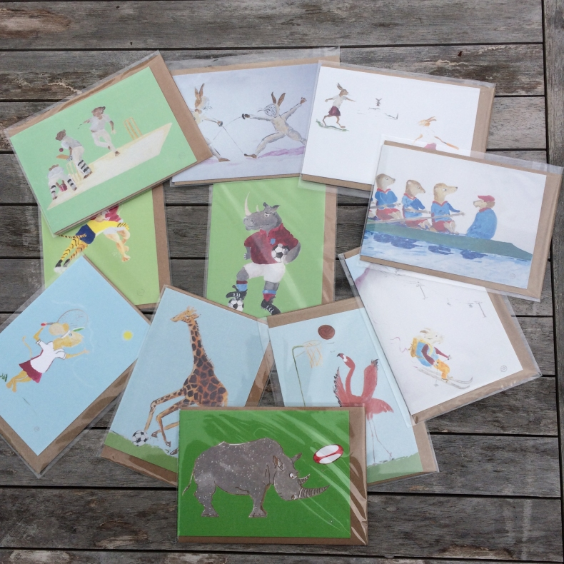 Cards & Postcards by Sal Ashmore