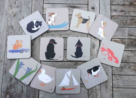 Coasters by Sal Ashmore